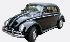 Windscreen T1 Beetle Convertible 1958-1967