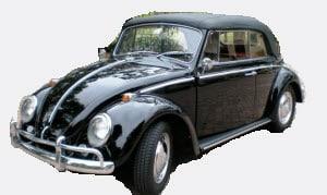 Windscreen T1 Beetle Convertible 1958-1967