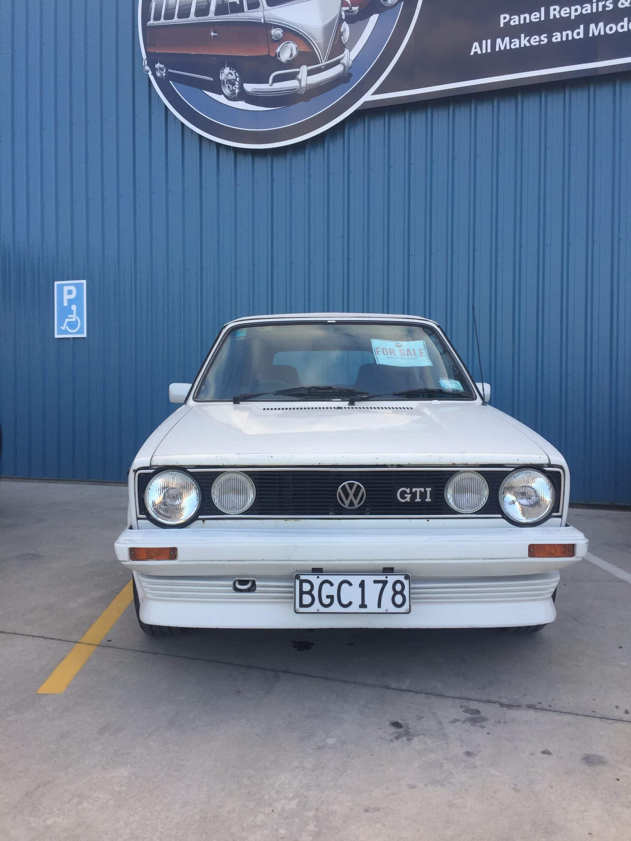 1984 VW Golf GTI Cabriolet - V-Dub Shoppe Ltd